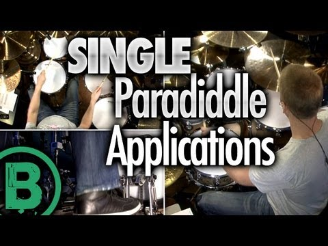 Single Paradiddle Applications - Drum Rudiment Lessons