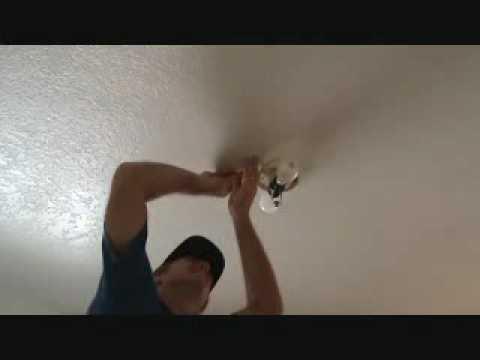Repairing a sheetrock ceiling