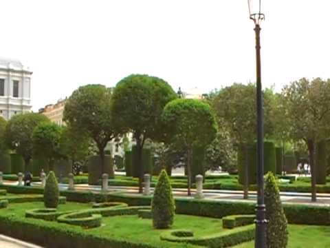 Plaza de Oriente in Madrid 1