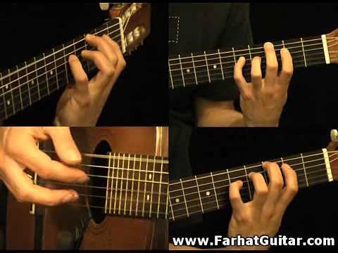 The unforgiven - Metallica Part 2 Guitar Cover FarhatGuitar.com
