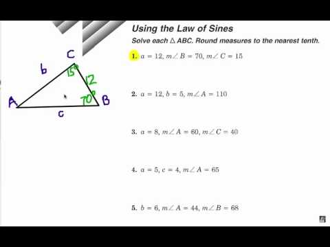 Viewer Challenge: Law of Sines