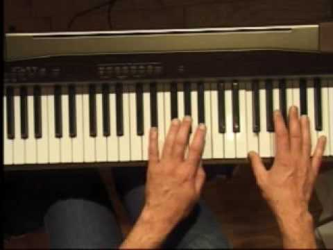 Piano Lesson - How to Play the C#/Db major scale (left hand)