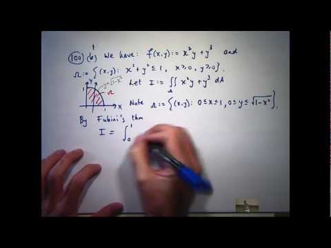 Tutorial - double integrals