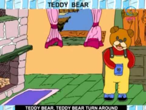 Rhymes and Alphabet - Teddy Bear - Creative Learning for Kids