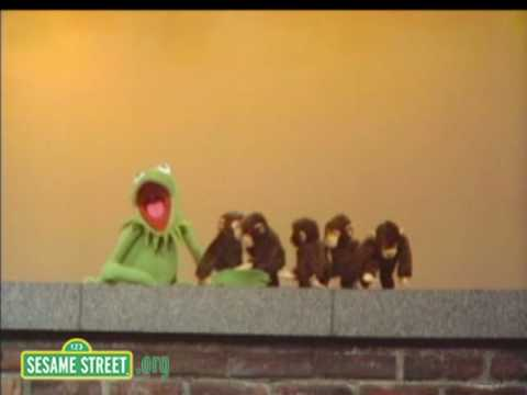 Sesame Street: Kermit Counts Monkeys