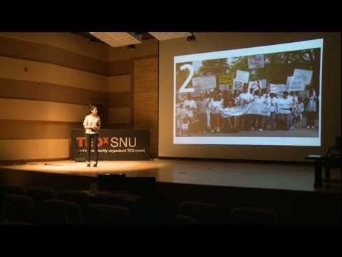 "TEDxSNU - Oh, Ha-yeon - Human Library : Books ""Who"" We Can Talk To"