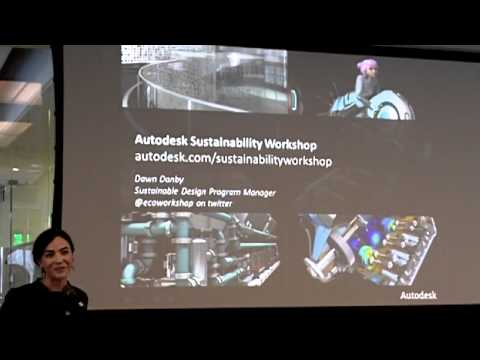 Sustainable Design in Education - Sustainable Summit at Autodesk 27 Jan 2011