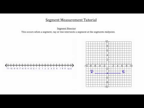 Segment Measurement and Construction