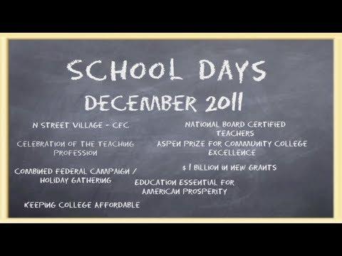 School Days, December 2011