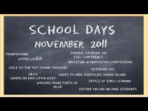 School Days - November 2011