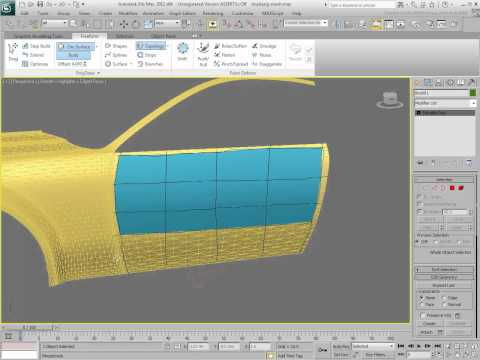 Using the Topology Freeform Function - Part 1