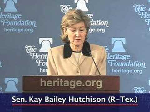 Sen. Hutchison on the absurdity of the D.C. law