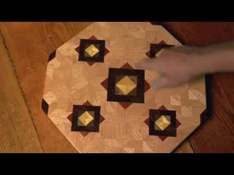Robin Tucker of Wood Mosaics: medium oak ASC lazy susan