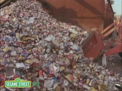 Sesame Street: Recycling Aluminum Cans