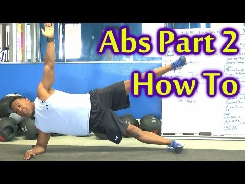 X Train Ab Workout Part 2: How To Video for Beginners to Advanced at Home | Austin Psychetruth