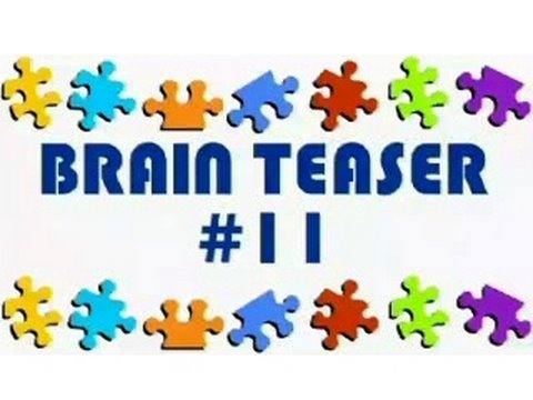Video Brain Teaser #11