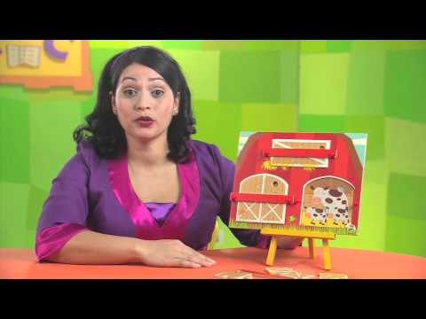 PBS KIDS Toys | Explore the Barn: 3-Layer Puzzle