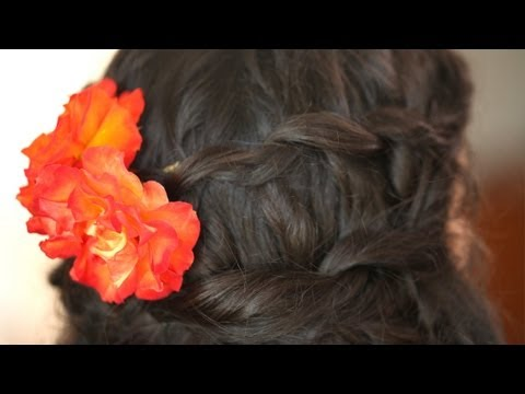 Special Occasion Curly Hair Hairstyle: How To Do It || Kin Beauty
