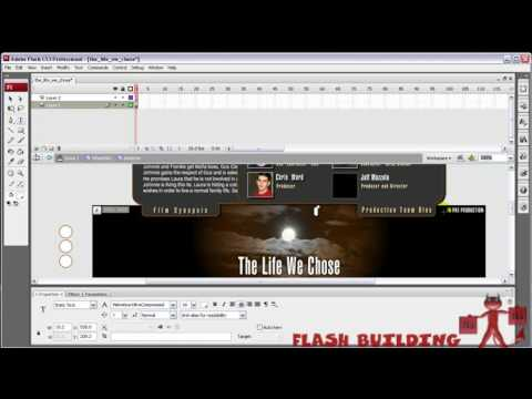 Simple email link for contact - Flash 8+CS3+CS4 Tutorial