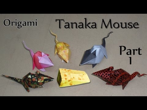 Origami Tanaka Mouse Part 1
