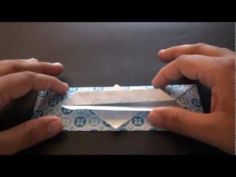 Origami Daily - 215: Tissue Holder - TCGames [HD]