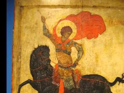 "Saylor ARTH401: Icon of Saint George (the ""Black George"")"