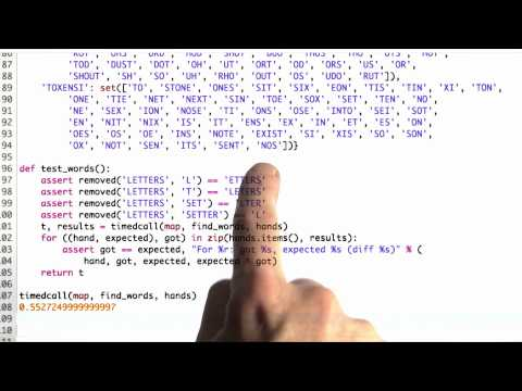 Regression Tests - CS212 Unit 6 - Udacity