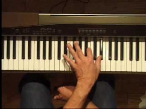 Piano Lesson - B Major Triad Inversions (Left Hand)
