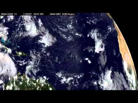 Satellite Eyes Hurricane Katia on the Move