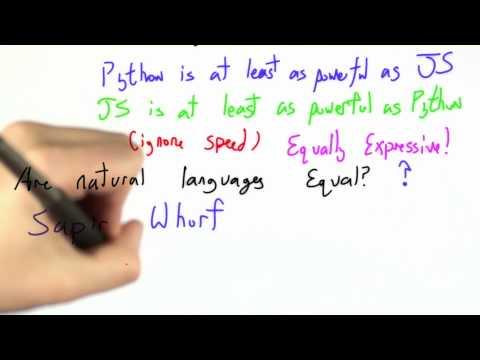 Natural Language Power - CS262 Unit 5 - Udacity