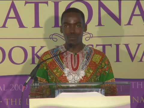 Wilson Kimeli Naiyomah: 2009 National Book Festival