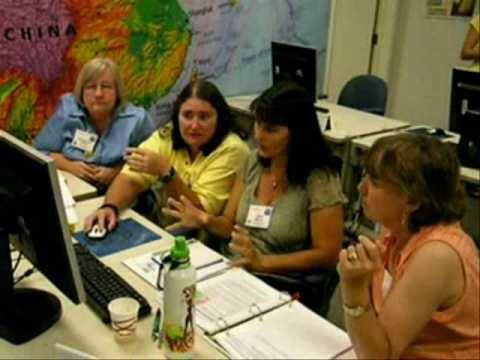 T3G Teachers Teaching Teachers GIS Institute