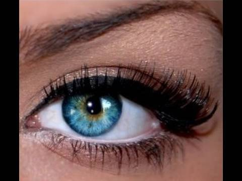 Natural Glamour Eye Make-up