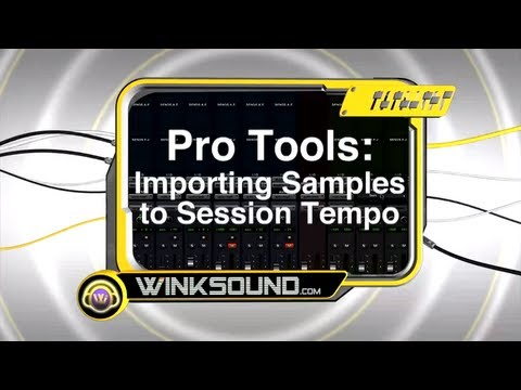 Pro Tools: Importing Samples to Session Tempo