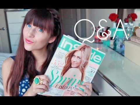 Q&A Fashion, New Hair, Graduation & More