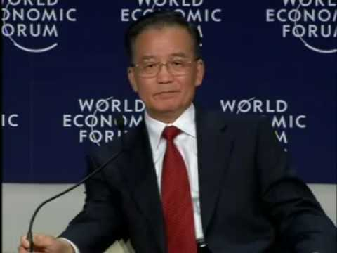 Tianjin 2008 - Welcome & Opening Plenary with Wen Jiabao