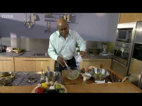 Vegetable and prawn tempura - Ainsley Harriott - BBC