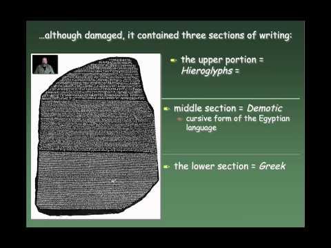 Understanding Hieroglyphics