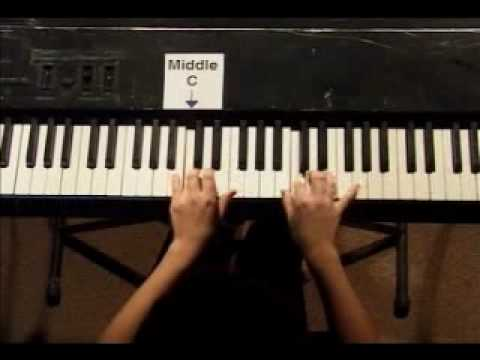 Piano Lesson - Hanon Finger Exercise #6