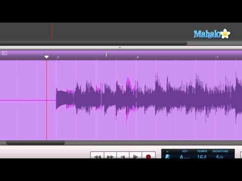 Track Editor Timeline Ruler - GarageBand Tutorial