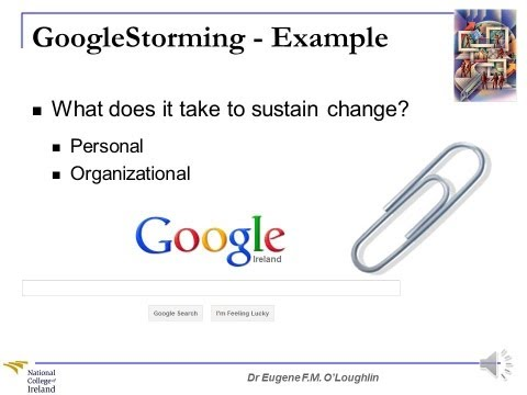 Problem-Solving Techniques #19: GoogleStorming