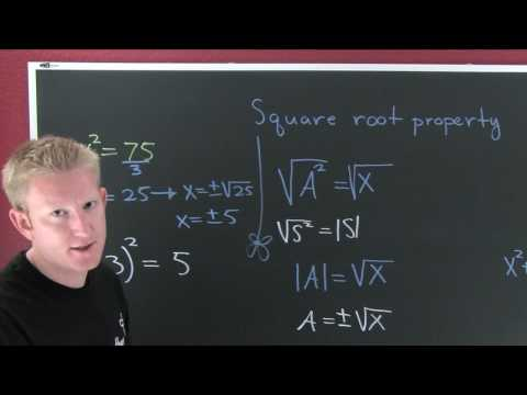 Square Root Property.mov