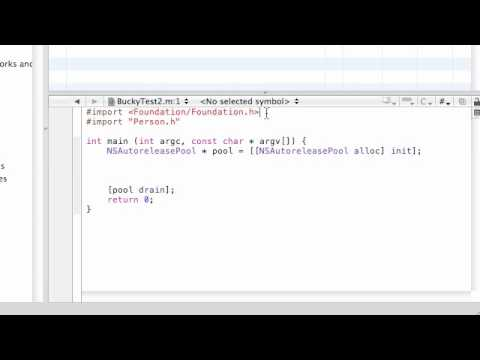 Objective C Programming Tutorial - 24 - Running the New Program