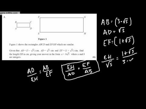 Practice Core 1 Full A level Exam Q1-3
