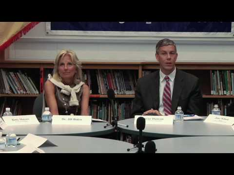 Secretary Duncan and Dr. Jill Biden visit Ft. Belvoir