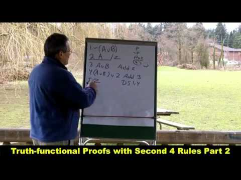 Truth-functional Proofs with Second 4 Rules Part 2_HD.mp4 - YouTube.mp4