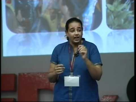 TEDxSalem-Aarti C Rajaratnam-Creating a million smiles through Holistic education