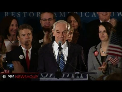 Ron Paul After 3rd-Place Finish in Iowa: 'Freedom Is Popular'