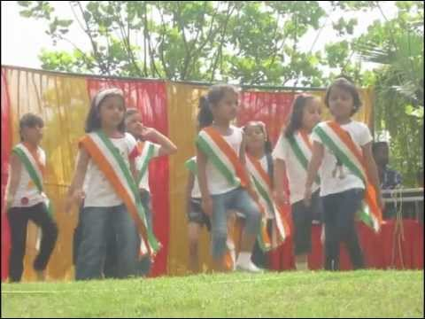 Pari performing on Independence day