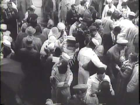 Nautilus Submarine Returns to New York Harbor 1958 Newsreel